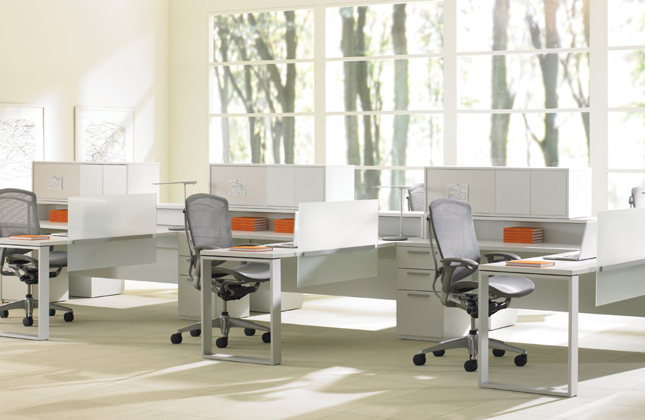 get Teknion's expansion desking system from BA Designs